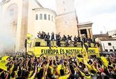 比利亞雷亞爾巡游慶祝奪得歐聯杯