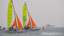 中国家庭帆船赛青岛站起航