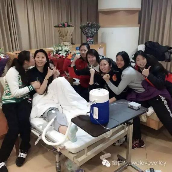 八一队友探访杨珺菁 材料图