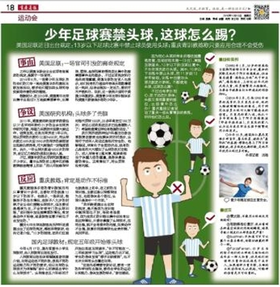 重庆晨报版面图