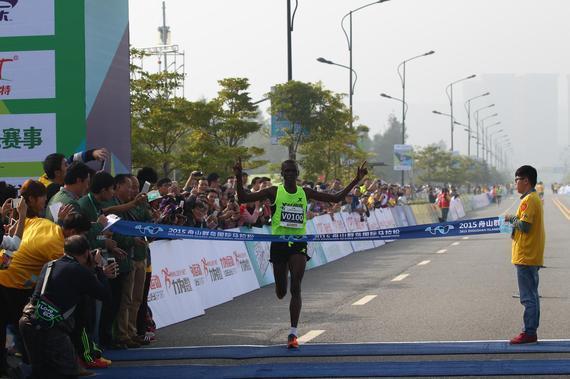 2015舟山群岛马拉松赛