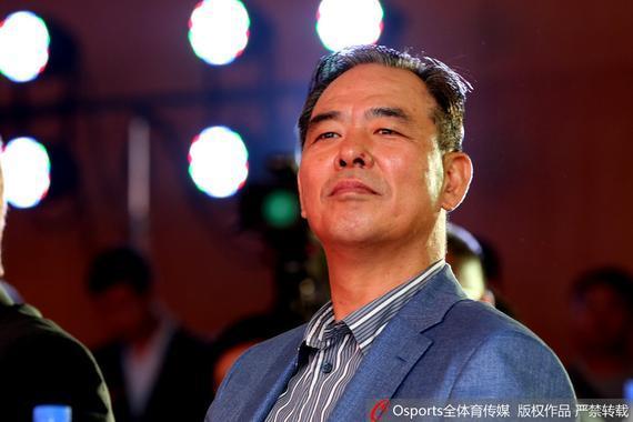 中国足协主席蔡振华抵达香港督战国足(资料图)