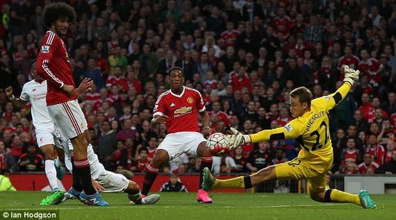 对阵利物浦的进球是马夏尔自评最佳
