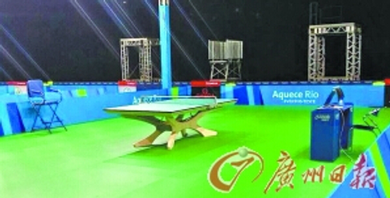 ITTF is another disruptive innovation! Olympic table tennis rubber becomes Brazilian green