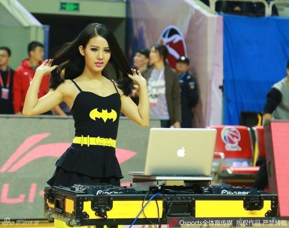 江苏肯帝亚主场的美男DJ
