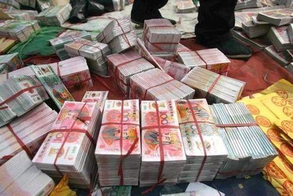 败家彩民竟用冥币成功买了8万彩票(网络配图)