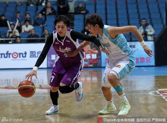 北京女篮56-60上海女篮