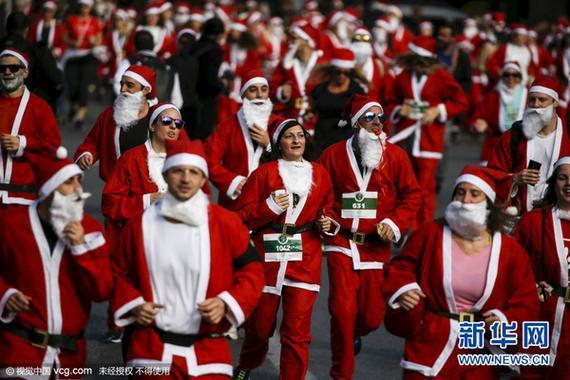 圣诞老人赛跑