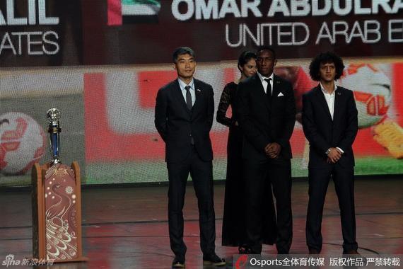 郑智没能再次当选亚洲足球先生