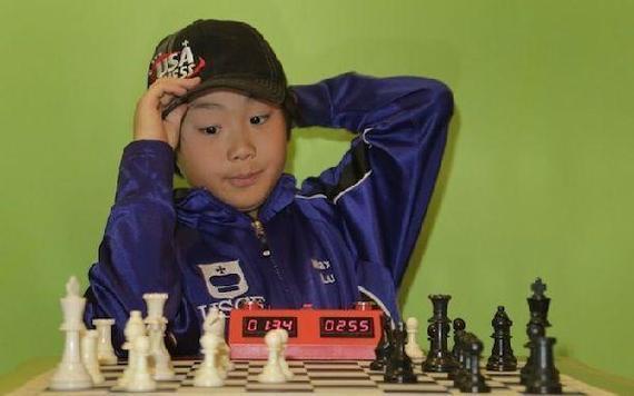 华裔国际象棋少年