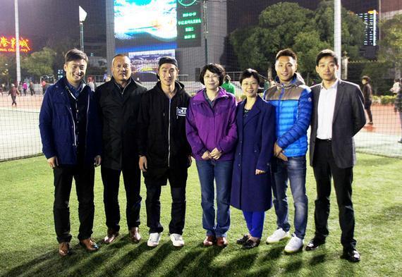 宝山区五人制足球比赛落幕