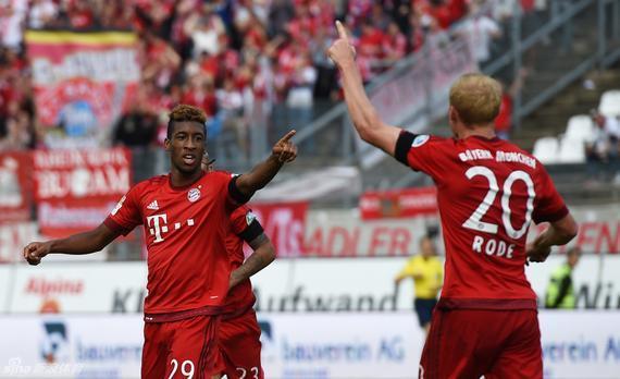 科曼在拜仁本赛季的发挥不错