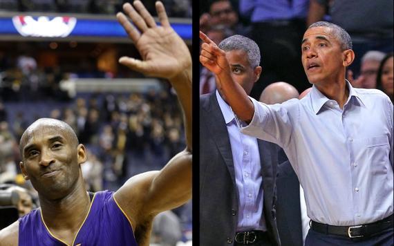 科比和奥巴马
