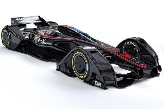 高清-迈凯轮发布f1概念车mp4-x 来自沃金的黑科技图片