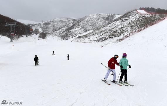 滑雪(材料图)