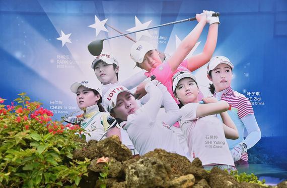现代汽车中国女子公开赛开打