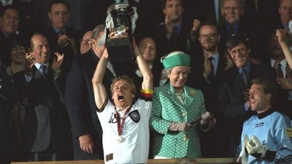 欧洲杯历史之1996:德国队金球
