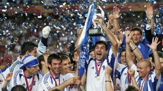 2004年欧洲杯希腊夺冠