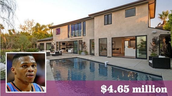 威少花了465万美圆在洛杉矶买了一套豪宅