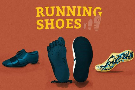 跑鞋进化史