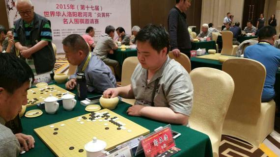 加入专业竞赛的棋友郭正浩