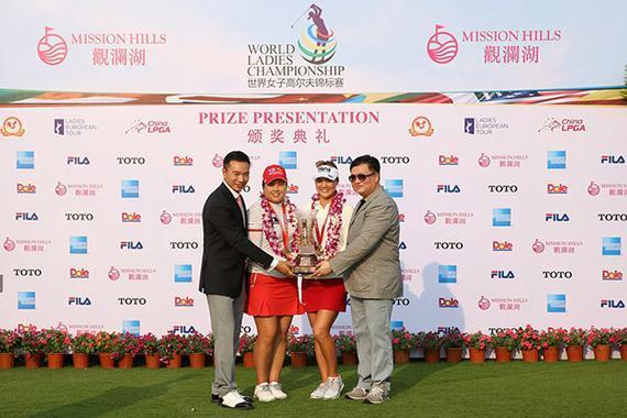 本年观澜湖男子世锦赛,柳萧然逆转朴仁妃夺冠