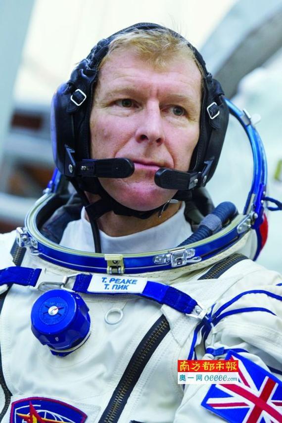 城会玩!宇航员皮克欲在太空与伦敦马拉松同步奔驰。