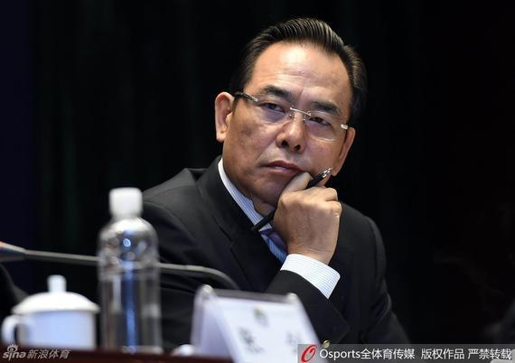 """蔡振华提出足球改革发展""""三步走战略"""""""