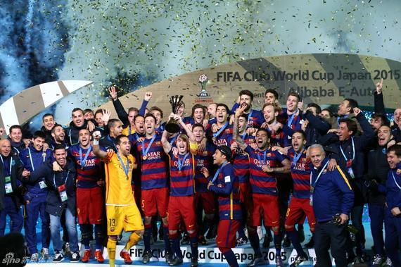 巴萨获得五冠王
