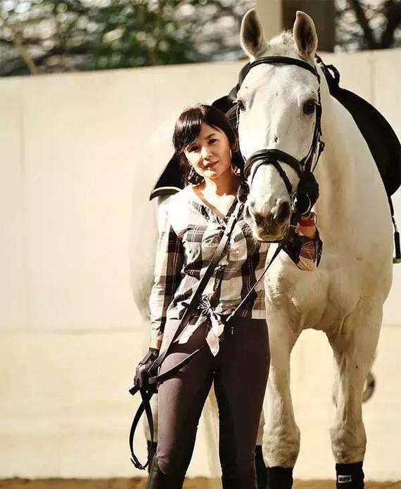 刘晓梦与她的马