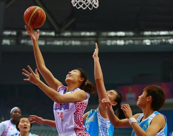 WCBA第23轮北京逆转新疆