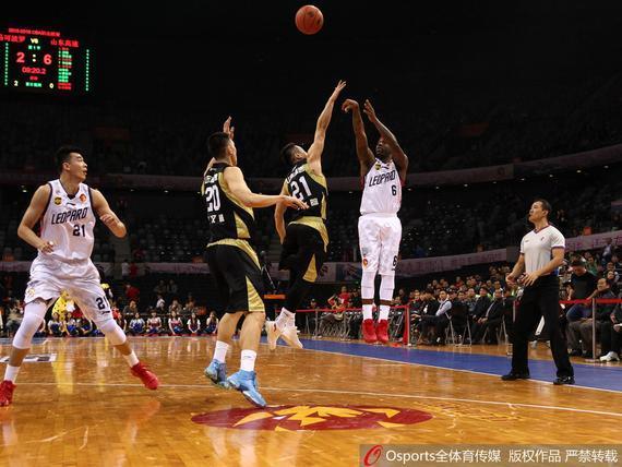CBA第21轮深圳主场对山东