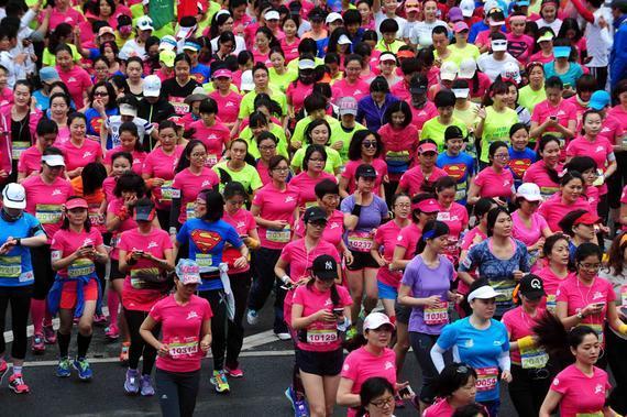 女子半程马拉松
