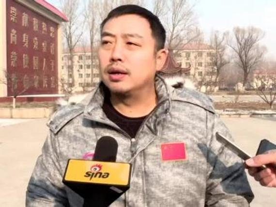 刘国梁接受新浪专访