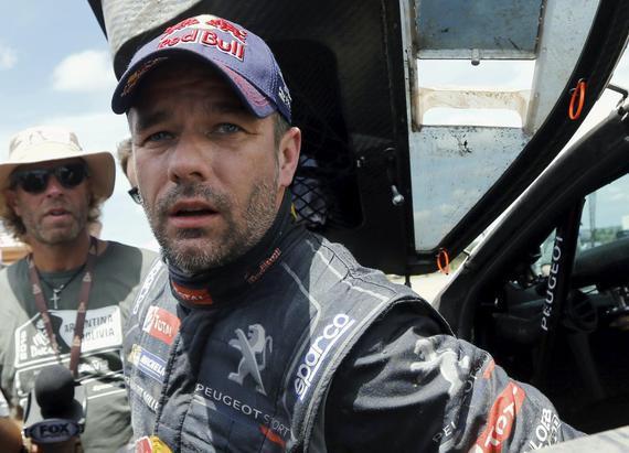 WRC世界汽车拉力锦标赛九届冠军塞巴斯蒂安-勒布