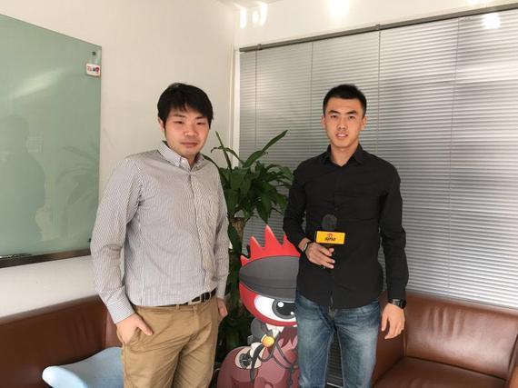 清华大学马术协会曾俊刚同学接受新浪马术采访