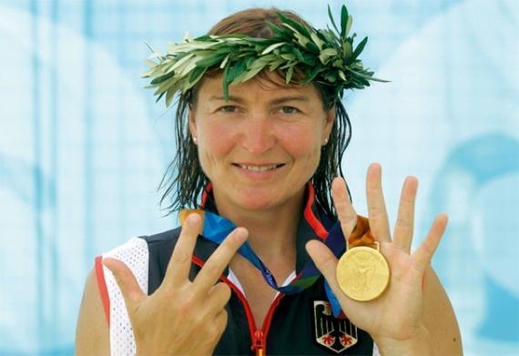 菲舍尔获得过六枚奥运会金牌