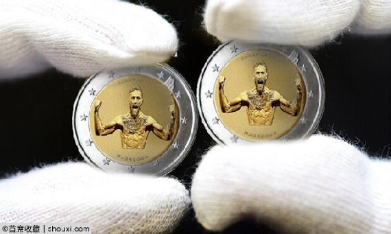 爱尔兰发行2欧元UFC名将麦格雷戈纪念币
