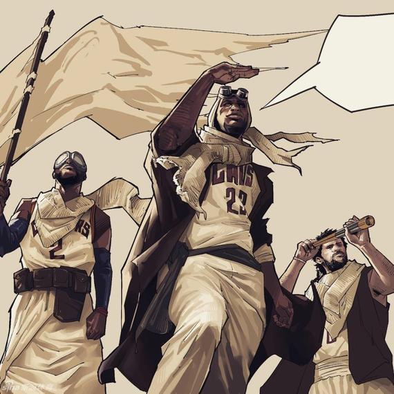 骑士对勇士前瞻:三巨斗水花 复仇还是横扫? _N