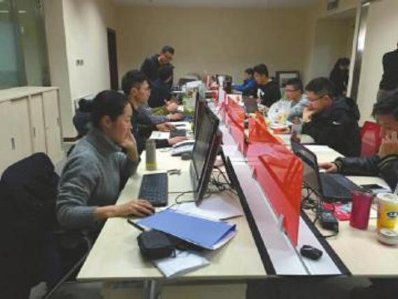 组委会赛事组工作人员正在统计。