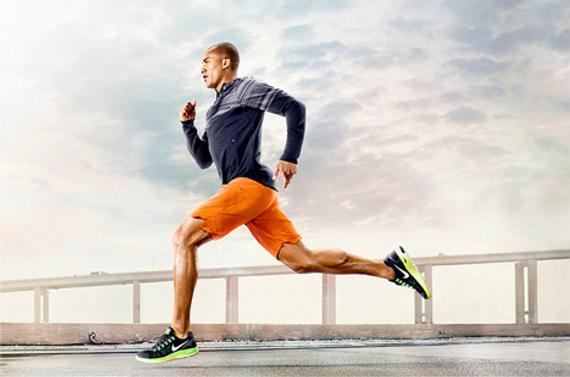跑步的人图片手绘图片