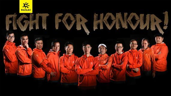 小太阳队出征港百:挑战极限,为荣誉而战。