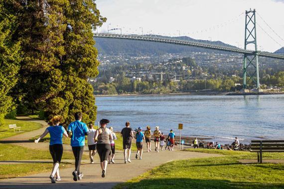 温哥华马拉松始于1972年,是加拿大第二大马拉松赛事。