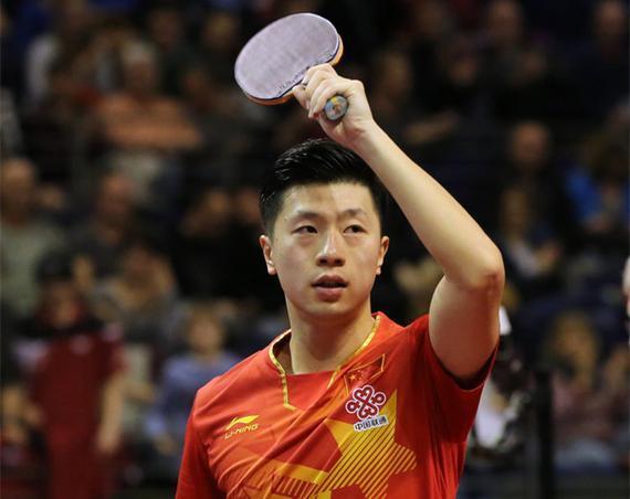 乒联赞马龙中国男单史第一人