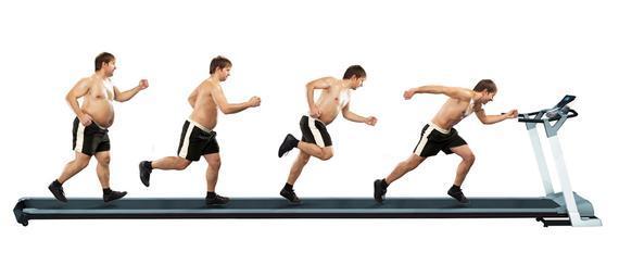 锻炼减肥的步骤图片
