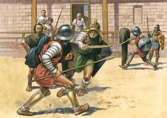 昆仑决健身:古罗马角斗士如何炼成