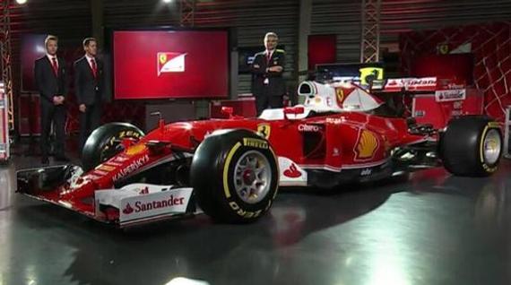 法拉利发布2016赛季F1新车SF16-H