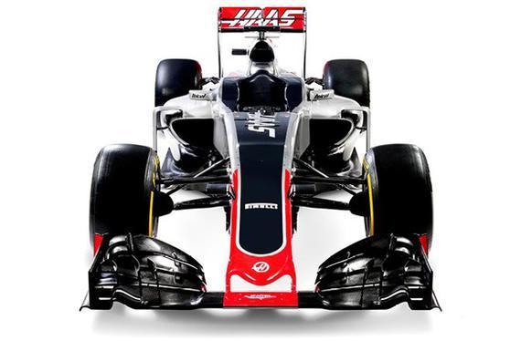哈斯车队公布2016赛季F1新车VF-16
