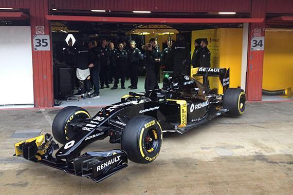 雷诺车队公布新车RS16