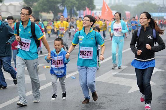 浙江的马拉松逐渐升温。